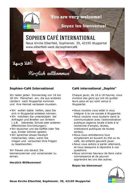 1 Sophiencafé international aktuelle email